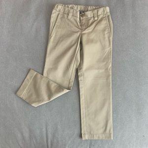 Land's' End uniform khaki pants (CHILD)